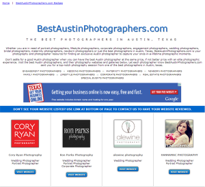 Best Austin Photographers
