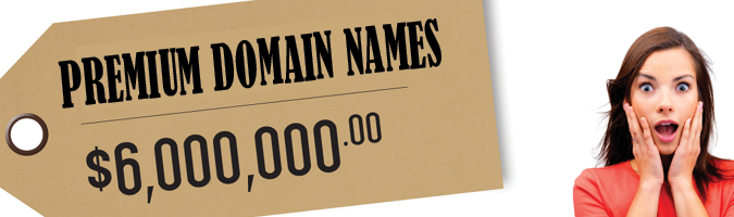 premium domain names values