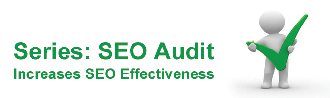 A series about increasing SEO effectiveness by having a consistent SEO audit performed.