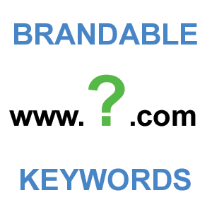 SEO for brandable and keyword domains