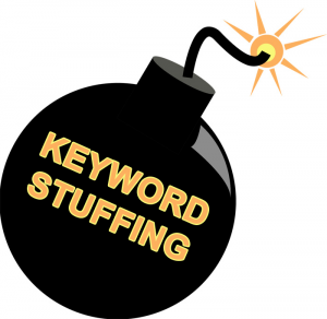 Keyword stuffing is not sound, optimized content marketing.