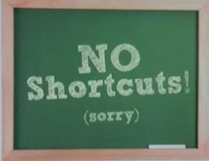 There are no shortcuts when performing DIY SEO.