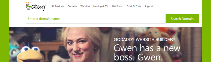 GoDaddy gets it right with PuppetsByGwen.com!