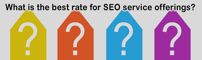 What is the best rate for SEO service offerings?