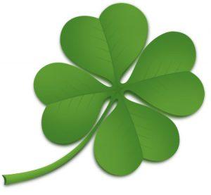 St. Patrick's Day Four Leaf Clover