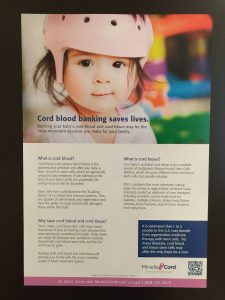 Cord Blood Banking Saves Lives