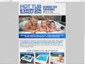 Hot Tub & Swim Spa Blowout Expo at the Delaware Fairgrounds