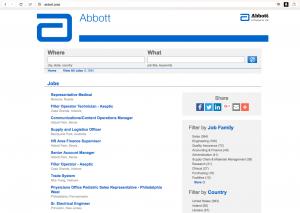 Abbott.Jobs dot brand domain