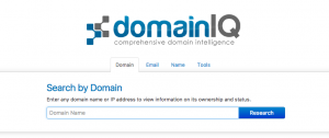 DomainIQ.com - Domain & Domain Owner History