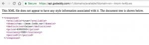 GoDaddy API - xn--imom-lw4b.ws