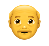 Emoji old man