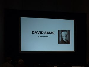 Fireside Chat with David Sams
