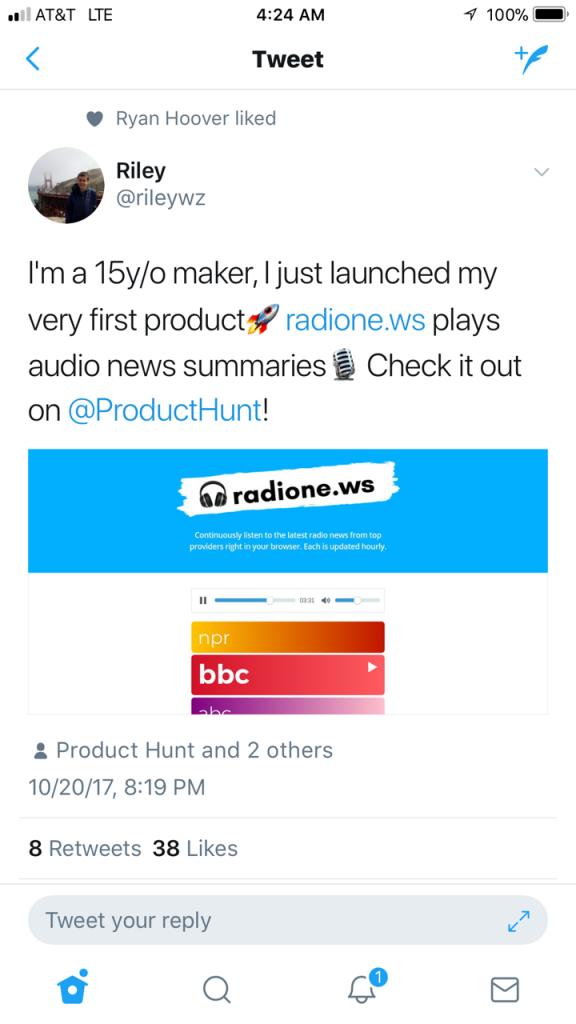 Radione.ws Website