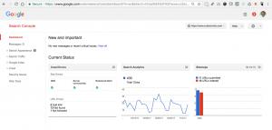 GSC Search Analytics Dashboard