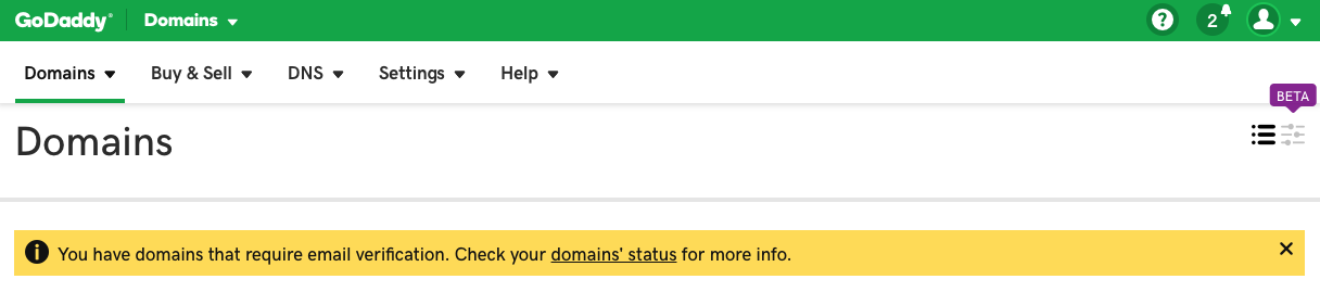 Remedy Whois Verification Confirm Email Link Not Working