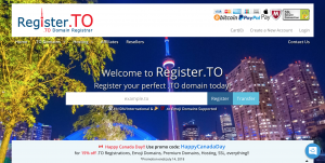 Register.TO Happy Canada Day Promo