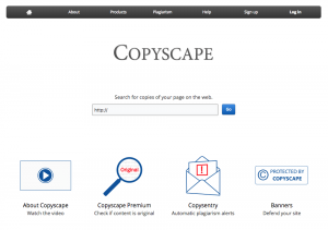 Find Content Plagiarism and Copyright Infringement - Copyscape