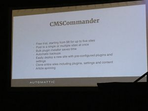 WordPress CMS Commander