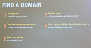 MERGE! - Tips for Finding a Domain