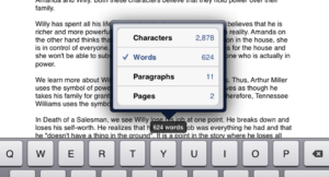 How to check word count in Apple Notes via iPhone and Other iOS Devices