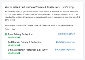 Full Domain Privacy & Protection