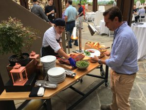 Dining Station 1 - Grove Park Inn - Asheville, NC Domain Investor Meetup