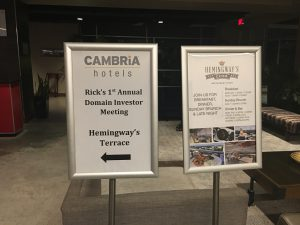 Domain Investing Rooftop Party - Cambria hotels - Ashville, NC