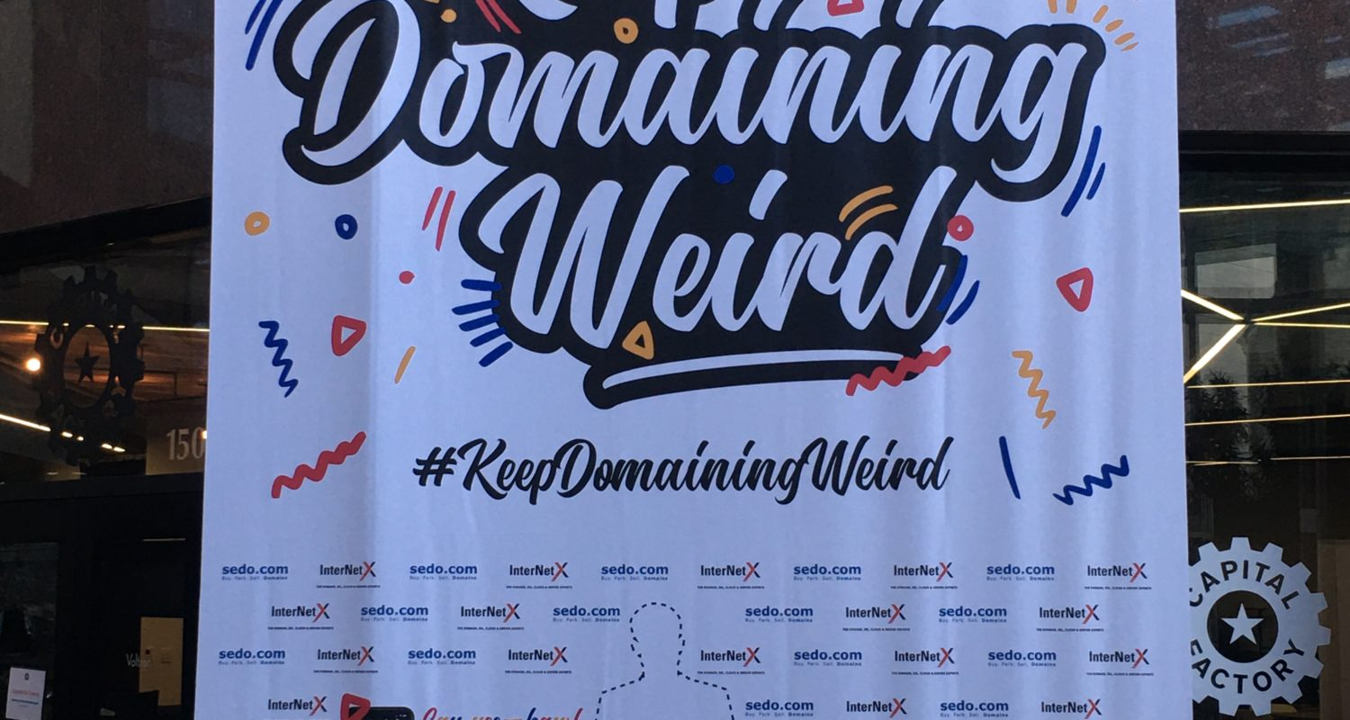 "NamesCon ""Keeping Domaining Weird"" in Austin"