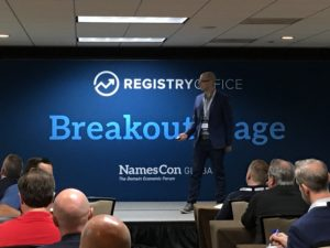 What's My Domain Worth with Ryan McKegney at NamesCon 2020 in Austin, Texas
