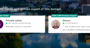 Pay Close Attention to Dan.com's Meet the Seller Box