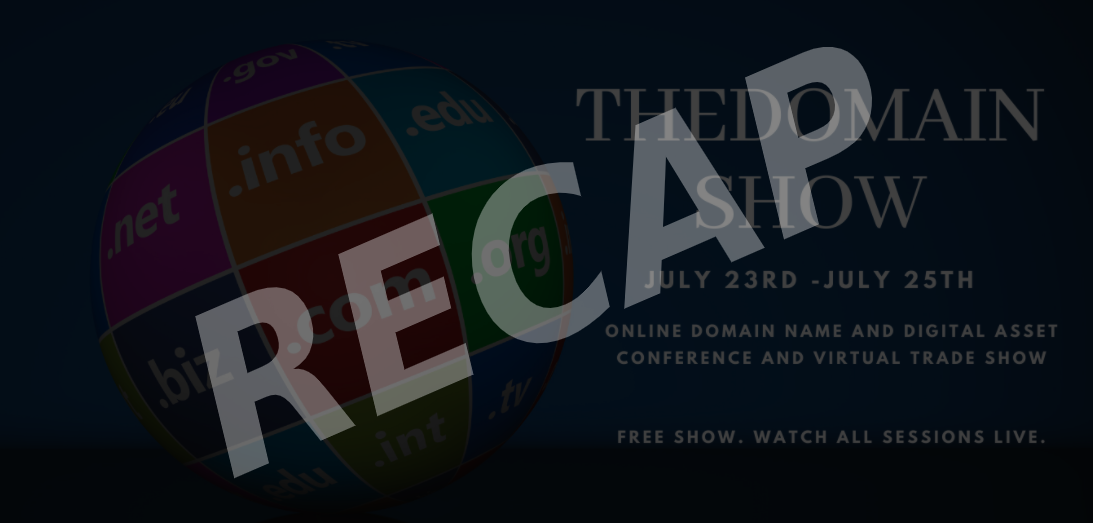 The Domain Show 2020 Recap