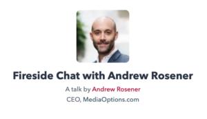 Andrew Rosener - The Domain Show 2020