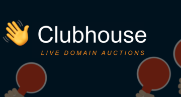Is Clubhouse the next live domain auction disruptor?